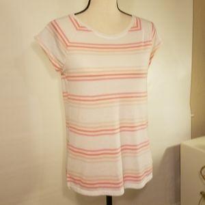 Victorias Secret striped T-shirt. Size XS